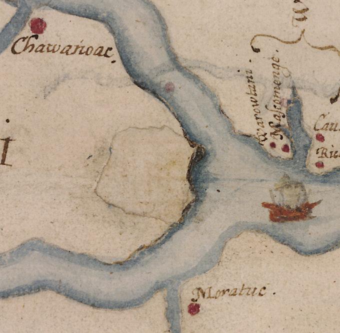 16th-century map