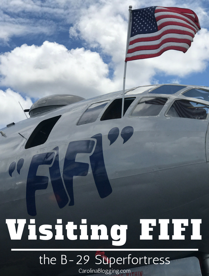 Visiting FIFI the B-29 Superfortress