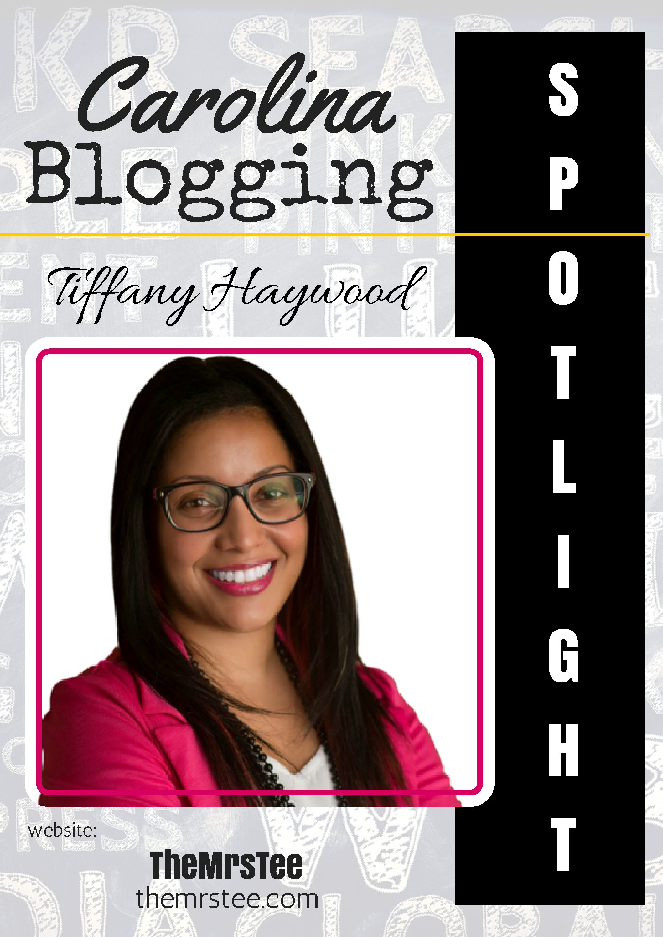 5 QUESTIONS WITH… Tiffany Haywood