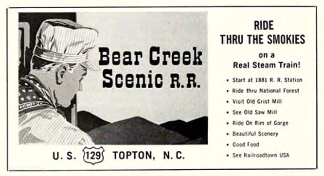 Bear Creek Scenic Railroad