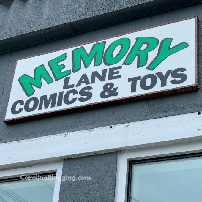 Memory Lane Comics - Wilmington - CarolinaBlogging